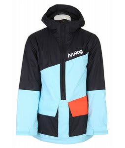 Analog Alpha Snowboard Jacket True Black Mens