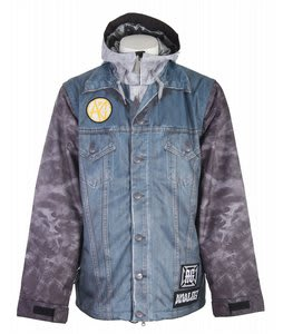 Analog Altar Snowboard Jacket Lanny Gray Mens