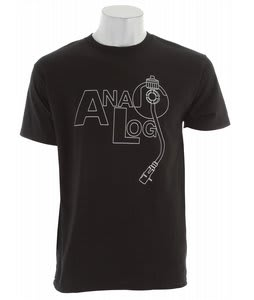 Analog Ana Jam T-Shirt Black