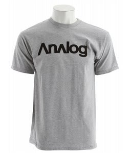 Analog Analogo T-Shirt Athletic Heather