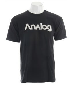 Analog Analogo T-Shirt Black
