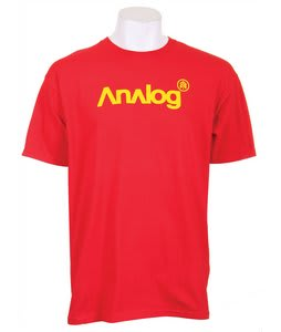Analog Analogo 5 T-Shirt Red Line