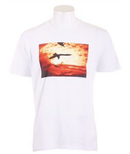 Analog Andy Wrt Fitted T-Shirt Optic White