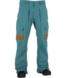 Analog Anthem Snowboard Pants Atlantic Blue/Leathern Brown