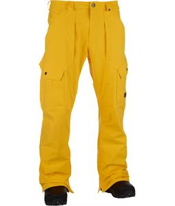 Analog Anthem Snowboard Pants Corp Yellow