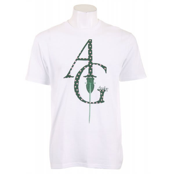 Analog Armes Noir Fitted T-Shirt