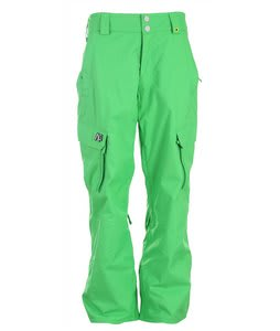 Analog Asset Snowboard Pants Wicked Green Mens
