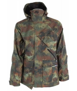 Analog Asset Snowboard Jacket Rain Camo