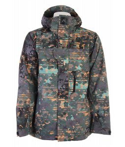 Analog Asset Snowboard Jacket Water Camo