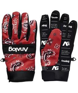 Analog Avatar Gloves Fish Paisley