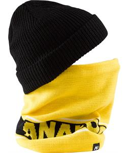 Analog Bandage Neck Gaiter Corp Yellow