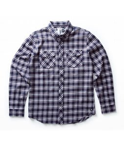 Analog Big Time L/S Flannel Shirt Dark Navy