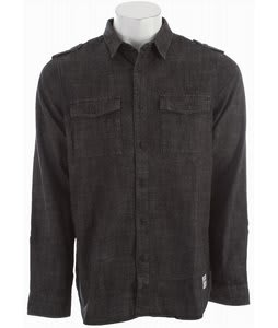 Analog Bishop Shirt Black Chambray