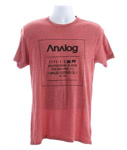 Analog Black Label T-Shirt Blood Heather