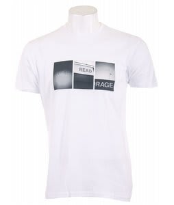 Analog Pla Bob K Fitted T-Shirt White