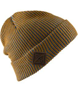 Analog Bolt Beanie Leather Brown