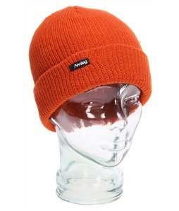Analog Burglar Beanie Orange