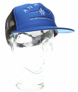 Analog Conference Trucker Cap Royal