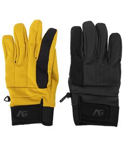 Analog Corral 2 Pack Gloves Corp Yellow/True Black