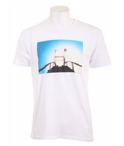 Analog Crg Wthr Fitted T-Shirt Optic White