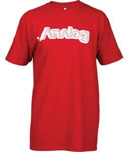 Analog Crunchy Logo T-Shirt