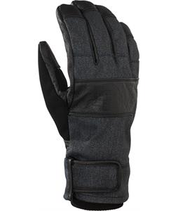 Analog Diligent Gloves Black Denim