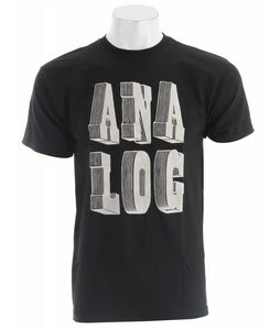 Analog Dimension Basic T-Shirt Black