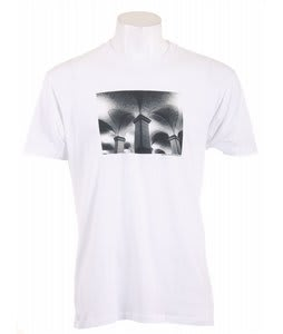 Analog Dist NYC Fitted T-Shirt Optic White