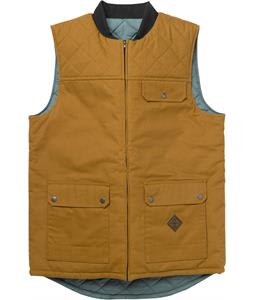 Analog Divest Vest Leather Brown/Atlantic Blue
