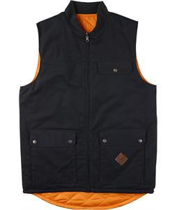 Analog Divest Vest True Black/Safety Orange