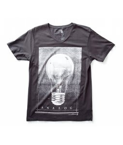 Analog Edison Vintage T-Shirt Dark Charcoal