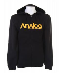 Analog Enterprise Fullzip Hoodie True Black