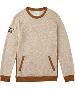 Analog Entourage Sweatshirt Heather Leather Brown
