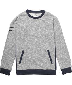 Analog Entourage Sweatshirt Heather Navy Blue