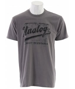 Analog Fabrica Fitted T-Shirt Dark Athletic Heather