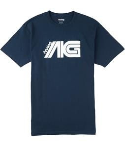 Analog Flight Crew T-Shirt Navy Blue