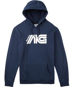 Analog Flight Hoodie Navy Blue