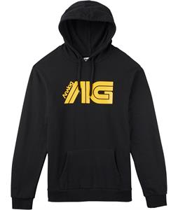 Analog Flight Hoodie True Black