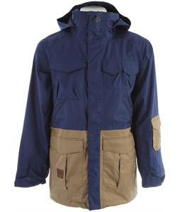 Analog Freedom Snowboard Jacket River Blue/Vintage Khaki