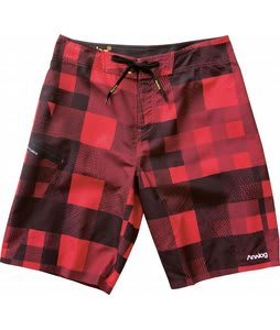 Analog Frequency Boardshorts Red Venom