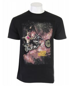 Analog Gnarlaxy T-Shirt Black
