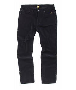 Analog Graves Cord Pants True Black
