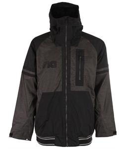 Analog Greed Snowboard Jacket Black Denim/True Black
