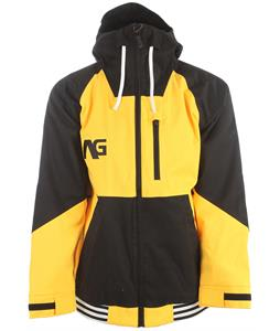 Analog Greed Snowboard Jacket Corp Yellow/True Black