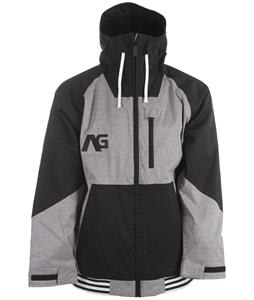 Analog Greed Snowboard Jacket Grey Sky Heather/True Black