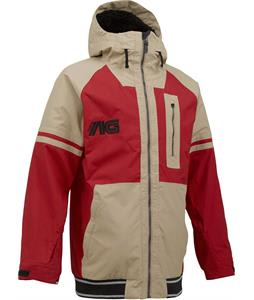 Analog Greed Snowboard Jacket Redstone/Tan