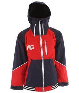 Analog Greed Snowboard Jacket Infrared/Moon Blue