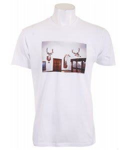 Analog Grnt Wln Fitted T-Shirt Optic White