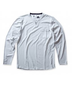 Analog Hastings L/S Crew Shirt Silver