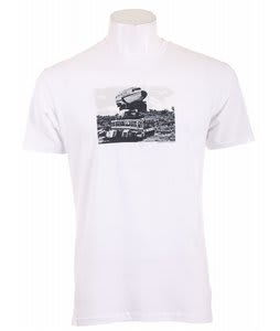 Analog Hmbg Eyes Fitted T-Shirt Optic White